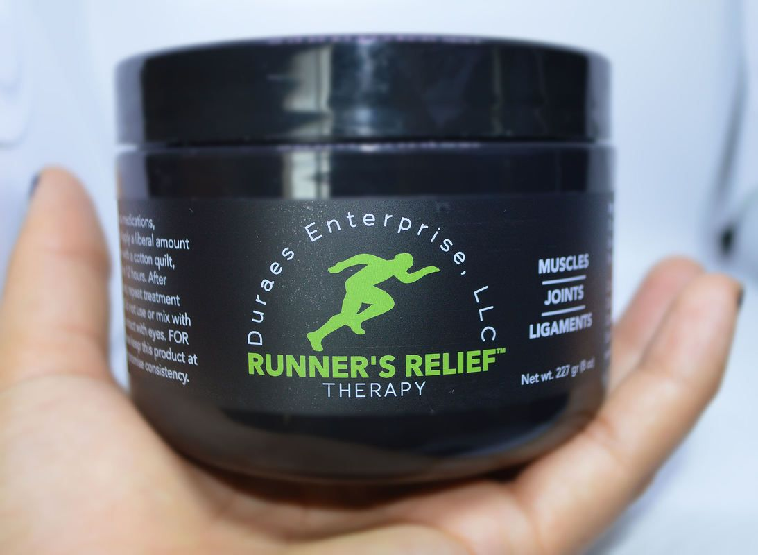 Runner's Relief for people